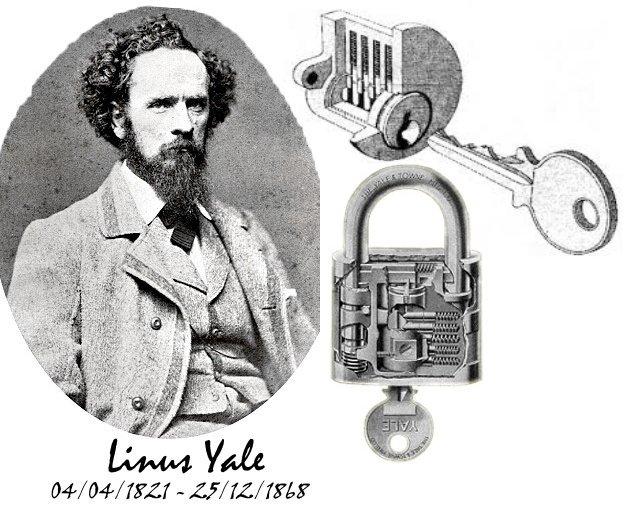 Linus Yale, precursor de Servihogar cerrajeros Valencia